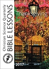 Thanksgiving Bible Lesson 2017